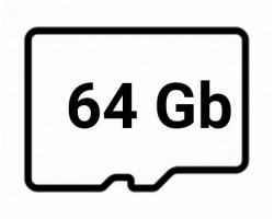 Карты памяти microSD объёмом 64 Гигабайт