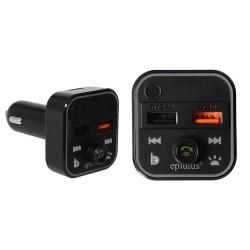 Автомобильный FM-трансмиттер Eplutus FB-13 2usb QC3.0