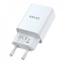 Сетевое зарядное устройство MIVO 2.1A MP-121