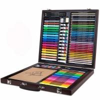 Набор для рисования Xiaomi Deli Coloring Set Wooden Box