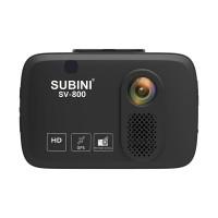 Видеорегистратор с антирадаром Subini SV-800 c 3 камерами