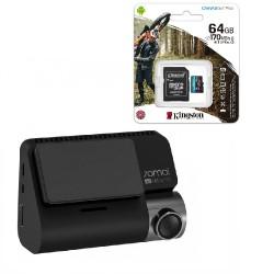 Видеорегистратор Xiaomi 70Mai A800S GPS + MicroSD 64Gb Kingstone U3 (для записи 4K)