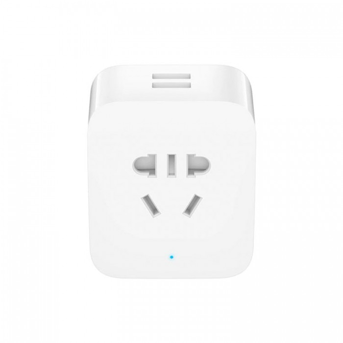 Умная Wi-Fi розетка Xiaomi Mijia Smart Socket 2 USB Pro Edition (ZNCZ03CM)