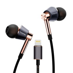 Наушники 1MORE E1001L Triple Driver LTNG In-Ear Headphones(w) (1MEJE0035)