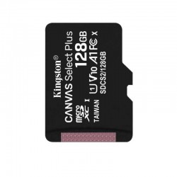 Карта памяти MicroSDXC Kingston 128GB Class 10 Canvas Select UHS-I U1 (100 Mb/s) (SDCS/128GB)