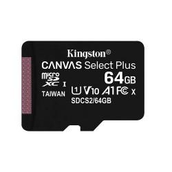 Карта памяти MicroSDXC Kingston 64GB Class 10 Canvas Select UHS-I U1 (80 Mb/s)(SDCS/64GB)