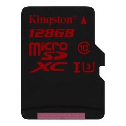 Карта памяти MicroSDXC Kingston 256GB Class 10 Canvas React UHS-I U3 V30 (100/80 Mb/s)(SDCR/256GB)