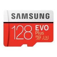 Карта памяти MicroSDXC Samsung 128GB Class 10 Evo Plus UHS-I U3 (100/90 Mb/s) (MB-MC128GA/RU)