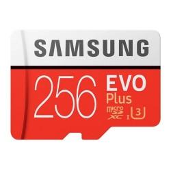 Карта памяти MicroSDXC Samsung 256GB Class 10 Evo Plus UHS-I U3 (100/90 Mb/s) (MB-MC256GA/RU)
