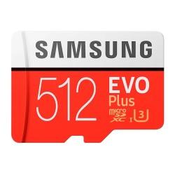 Карта памяти MicroSDXC Samsung 512GB Class 10 Evo Plus UHS-I (100/90 Mb/s) (MB-MC512GA/RU)