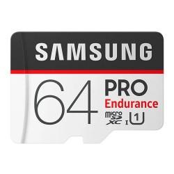 Карта памяти MicroSDXC Samsung 64GB Class 10 Pro Endurance UHS-I SDR104 (30/100 Mb/s) (MB-MJ64GA/RU)