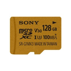 Карта памяти SDXC Micro Sony 128GB UHS-I U3 (SR-G1MX3A/NT)