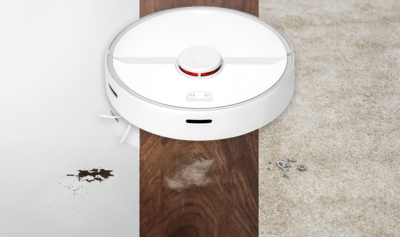 Робот-пылесос Xiaomi Roborock S6 Pure (Global Version)